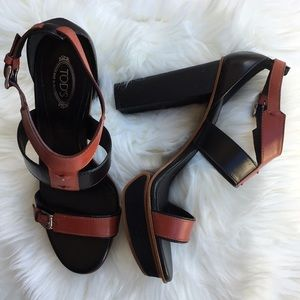 Tod's Platform Heels Shoes